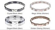 Титановые магнитные браслеты из коллекции Richy One.