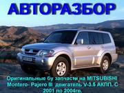 СКЛАД ЗАПЧАСТЕЙ НА – Mitsubishi  MONTERO Sport – Mitsubishi PAJERO Spo
