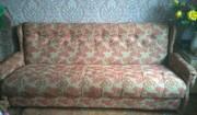 диван-кровать+2кресла б.у