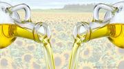 Подсолнечное масло на экспорт.