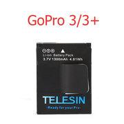 Продам аккумулятор для GoPro 3/3+ емкостью 1300мАч,  Telesin AHDBT-302