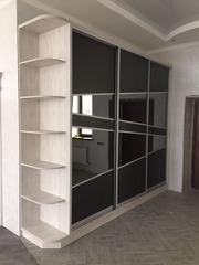 Шкафы-купе и гардеробные на заказ в Алмат