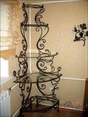 Интерьер для дома из кованых изделий.