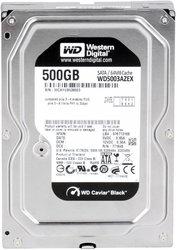Продам жесткий диск HDD WD BLACK 500Гб (SATA)