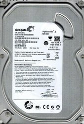 Продам жесткий диск HDD Seagate Pipeline 500Гб,  ST3500312CS