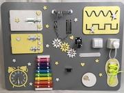 Бизиборд, бизидоска, дети, бизикуб, busyboard, детская развивающая игрушка
