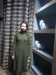 Шикарное платье-туника из натурального кашемира!