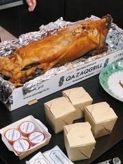 Запеченное мясо ягненка,  семги и индейки | Бесплатная доставка
