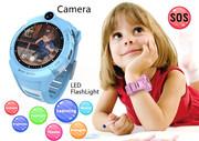 Продам детские GPS часы с камерой,  фонариком,  датчиком снятия с руки и