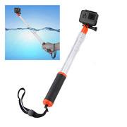 Прозрачный прозрачный плавающий телескопический монопод селфи палка по