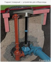 Гидрант пожарный — устройство для отбора воды
