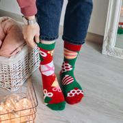 Цветные носки подарок на Новый год