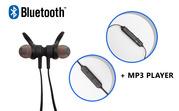 Продам беспроводная Bluetooth стерео гарнитура + MP3 плеер,