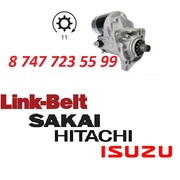 Стартер Hitachi EX200,  Isuzu 6BG1,  JCB 220 1811001911