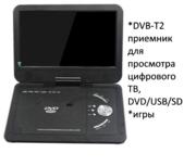 Продам 16 Дюймовый портативный DVD/USB/SD плеер с цифровым ТВ приемник