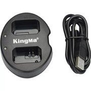 Продам зарядное устройство на два аккумулятора Sony NP-FW50,  KingMa BM
