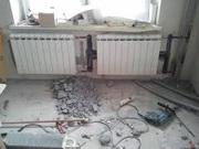 Установка радиаторов. Монтаж отопления