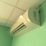 Экран отражатель (дефлектор)  для кондиционера.