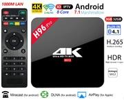Продам Android 7.1 TV приставка с памятью 3GB/32GB на 8-ми ядерном 64-