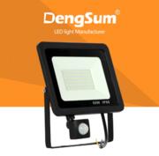 Продам уличный LED прожектор с датчиком движения,  100W,  LED-FPS100W