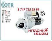 Стартер Hitachi ex-200 1-81100-217-1