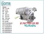 Стартер на экскаватор Kubota rx503s 1g911-630121