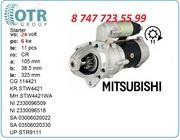 Стартер Mitsubishi s6b 23300-96504