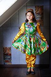 Узбекский костюм на прокат на девочку 5-7 лет