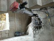 Демонтаж, разрушение стен